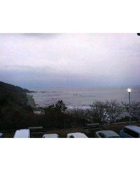 今朝の日本海