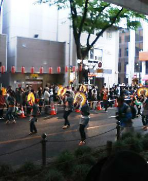 青葉祭り定禅寺通宵流し演舞