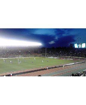 国立でサッカー観戦